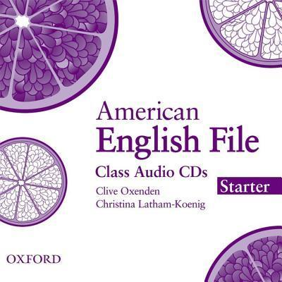 American English File Starter: Class Audio CDs (3)