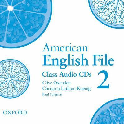 American English File Level 2: Class Audio CDs (3)