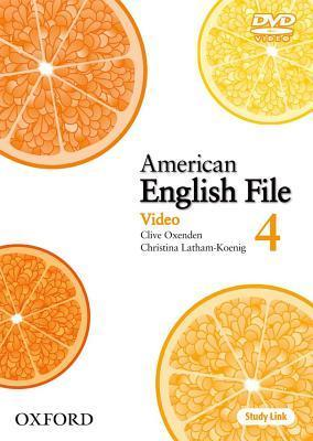 American English File Level 4: DVD