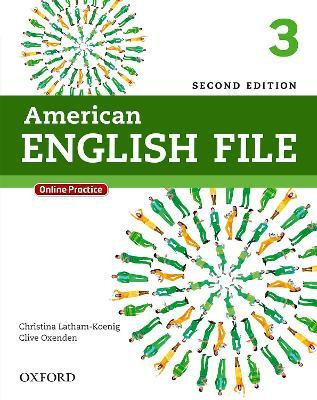 American English File: 3: Student Book with Online Practice