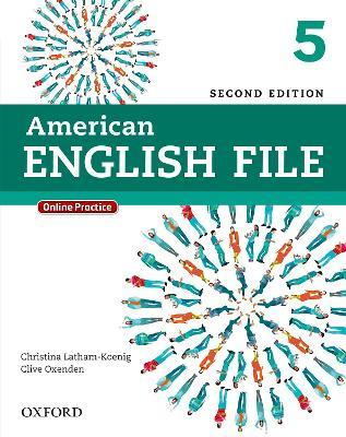 American English File: 5: Student Book Pack with Online Practice