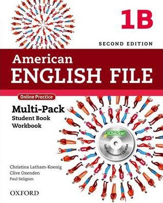 American English File: Level 1: Multipack B with Online Practice and iChecker