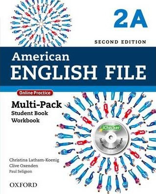 American English File: Level 2: Multipack A with Online Practice and iChecker