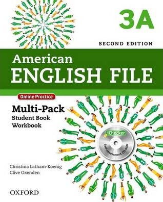 American English File: 3: Multipack A with Online Practice and iChecker