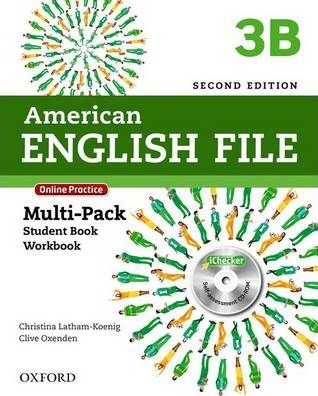 American English File: 3: Multipack B with Online Practice and iChecker