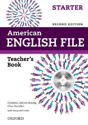 American English File: Starter: Teacher's Book with Testing Program CD-ROM