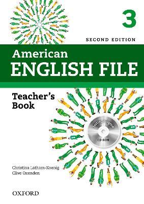 American English File: 3: Teacher's Book with Testing Program CD-ROM