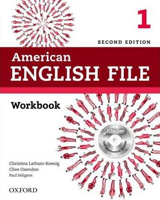 American English File: Level 1: Workbook with iChecker