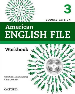 American English File: 3: Workbook with iChecker