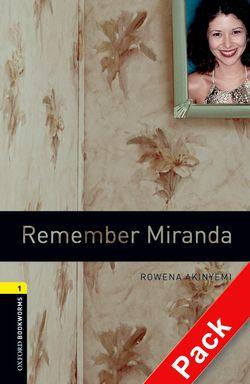 Oxford Bookworms Library: Level 1:: Remember Miranda audio CD pack