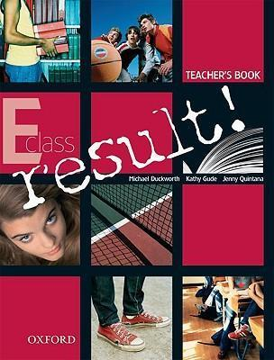 RESULT E TEACHER S BOOK