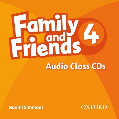 Family and Friends: 4: Class Audio CD