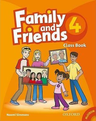 Family and Friends: 4: Class Book and MultiROM Pack