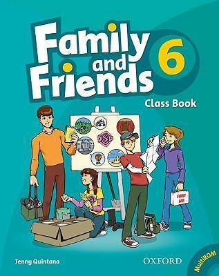 Family and Friends: 6: Class Book and MultiROM Pack