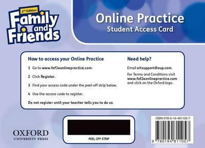 Family and Friends: Starter: Online Practice Student Access Card