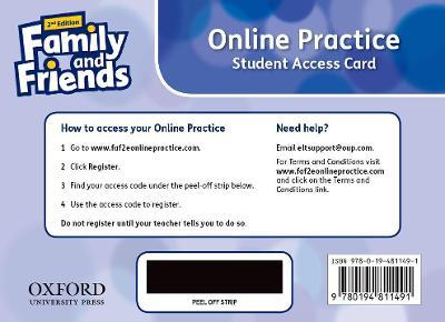 Family and Friends: Level 4: Online Practice Student Access Card