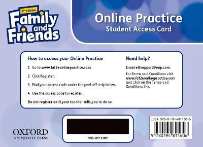 Family and Friends: Level 5: Online Practice Student Access Card