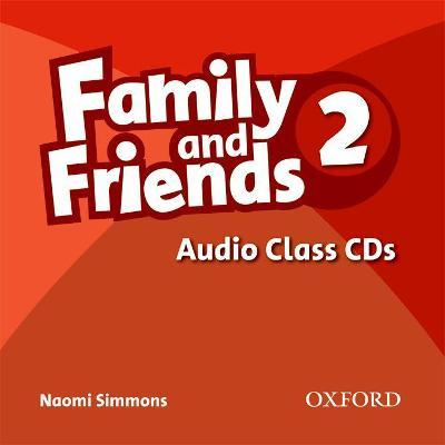 Family and Friends 2: Class Audio CDs