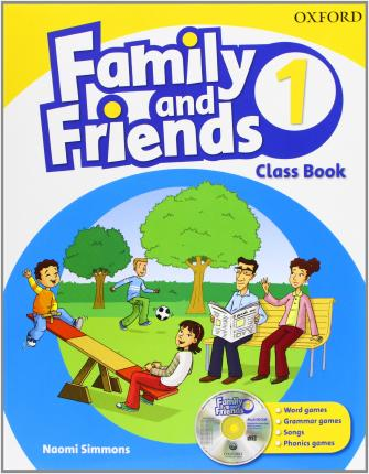 Family and Friends. 1º Primaria. Student Book + Multi-ROM