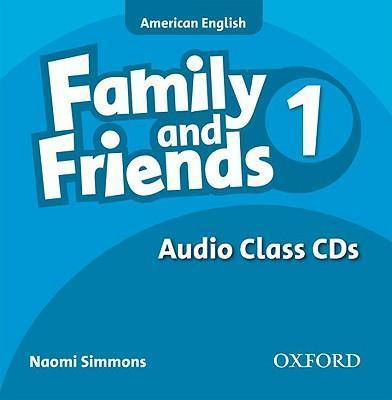Family and Friends American Edition: 1: Class CD