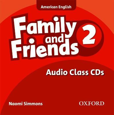 Family and Friends American Edition: 2: Class CD
