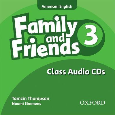 Family and Friends American Edition: 3: Class CD