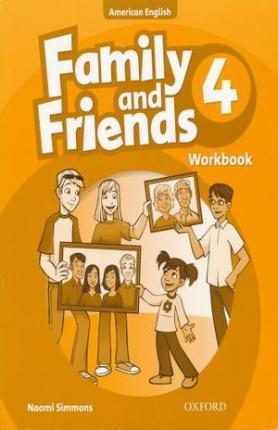 Family and Friends American Edition: 4: Workbook