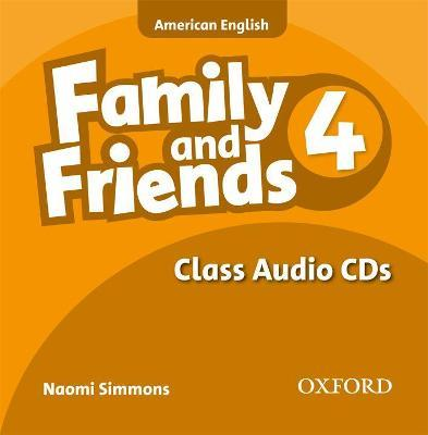Family & Friends: Family and Friends American Edition: 4: Class CD Class CD pt 4