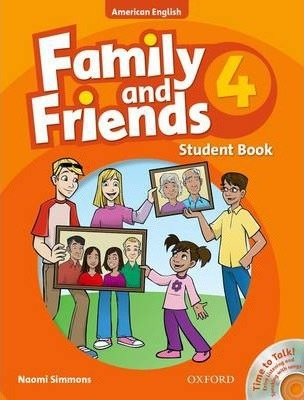 Family and Friends American Edition: 4: Student Book & Student CD Pack