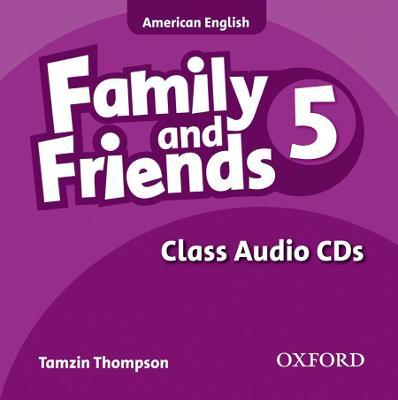 Family and Friends American Edition: 5: Class CD
