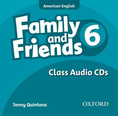 Family and Friends American Edition: 6: Class CD