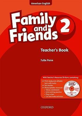 Family and Friends American Edition: 2: Teacher's Book & CD-ROM Pack