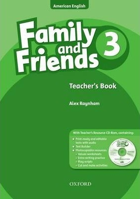 Family and Friends American Edition: 3: Teacher's Book & CD-ROM Pack