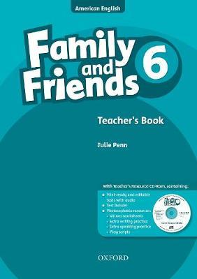 Family and Friends American Edition: 6: Teacher's Book & CD-ROM Pack