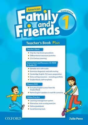 American Family and Friends: Level One: Teacher's Book Plus