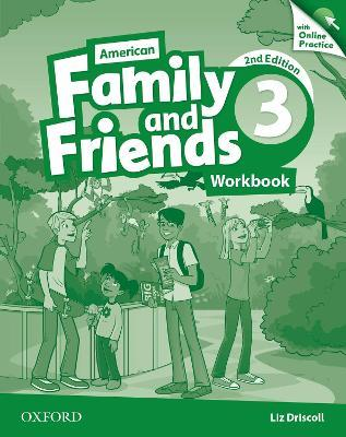American Family and Friends: Level Three: Workbook with Online Practice