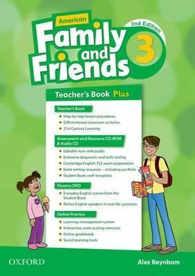 American Family and Friends: Level Three: Teacher's Book Plus