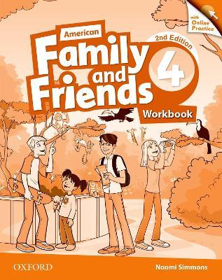 American Family and Friends: Level Four: Workbook with Online Practice