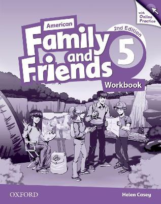 American Family and Friends: Level Five: Workbook with Online Practice