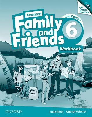 American Family and Friends: Level Six: Workbook with Online Practice