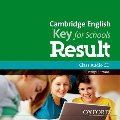 Cambridge English: Key for Schools Result: Class Audio CD
