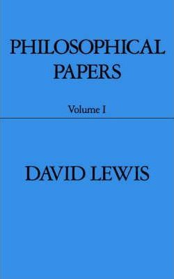 Philosophical Papers: Volume I