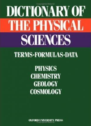 Dictionary of the Physical Sciences