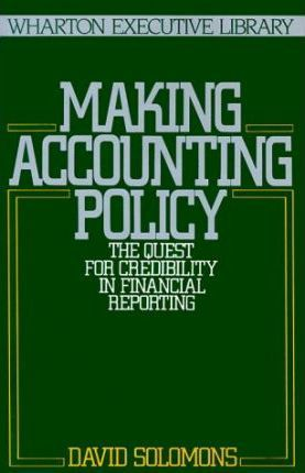 Making Accounting Policy