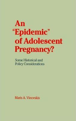 An 'Epidemic' of Adolescent Pregnancy?