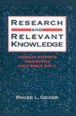 Research and Relevant Knowledge