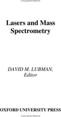 Lasers and Mass Spectrometry