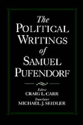 The Political Writings of Samuel Pufendorf