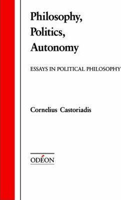 Philosophy, Politics, Autonomy