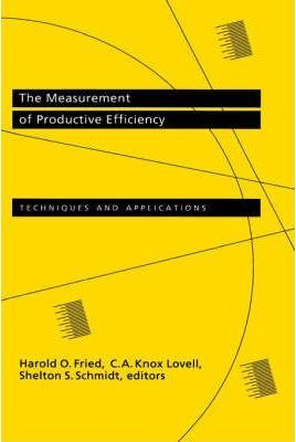 The Measurement of Productive Efficiency